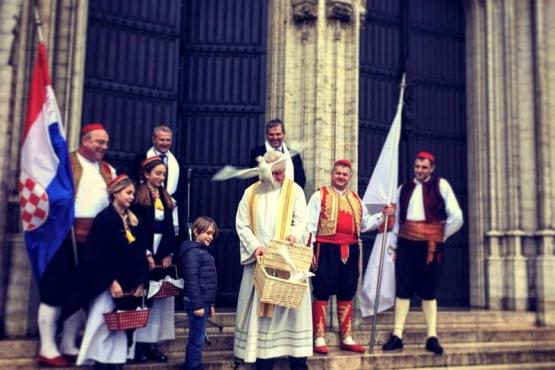 Petu godinu zaredom Festa svetoga Vlaha održava se u Bruxellesu