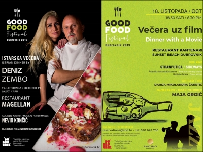Tematske večeri Good Food Festivala